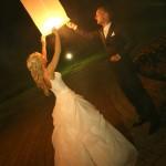 dangaus žibintai vestuvės