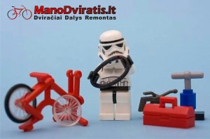 dviraciu remontas