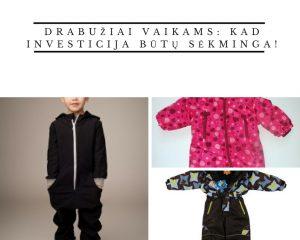 drabužiai vaikams
