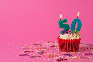 50 metų