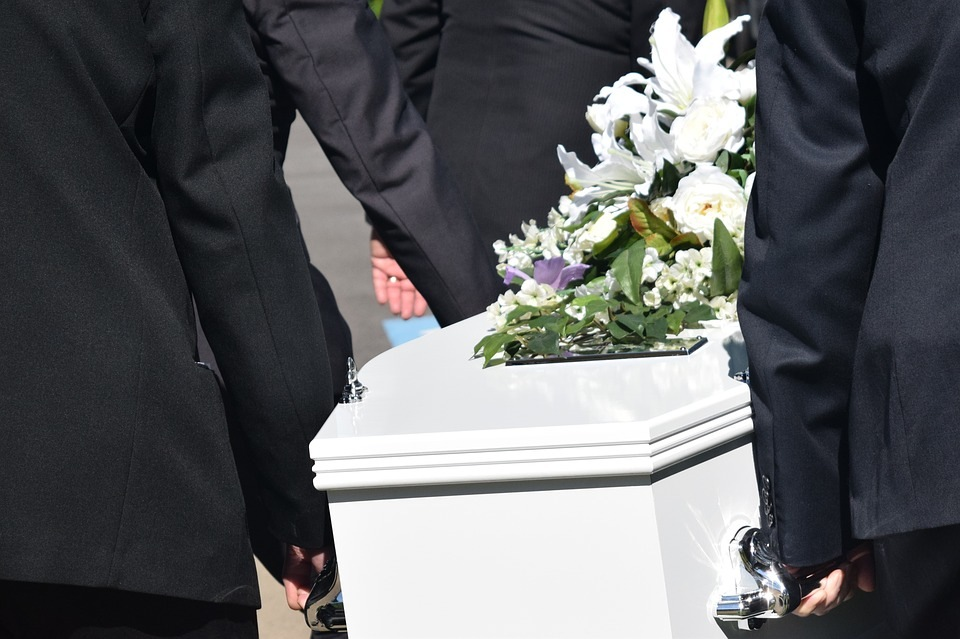 laidotuvės